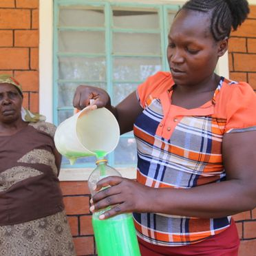 Soap making business in Bungoma